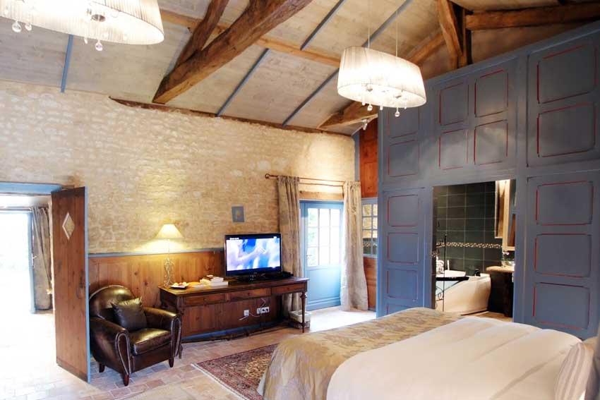 Chambre avec jacuzzi - Hotel La Rochelle