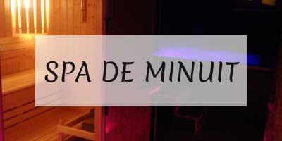 Spa de Minuit - Spa La Rochelle - idées week-end romantique