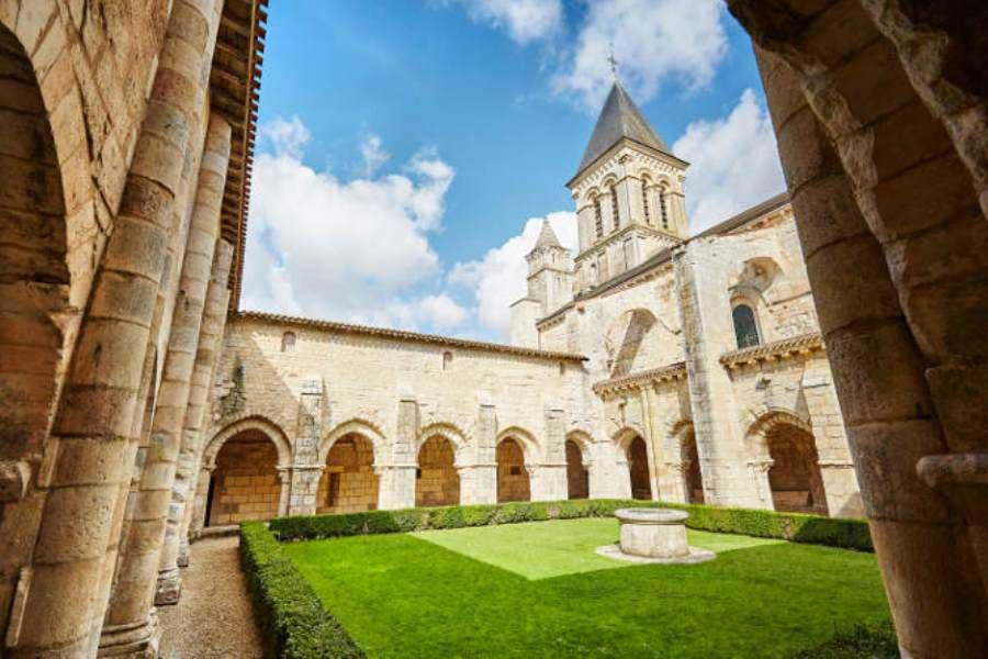 Abbaye de Nieul Sur l'Autise - Vendée
