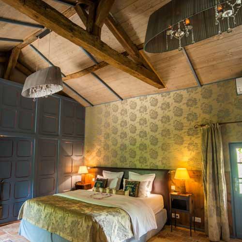 Ostence - Chambre avec jacuzzi