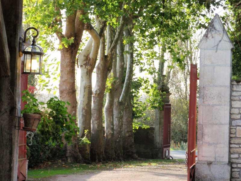 Entrée du Portail en Marais Poitevin