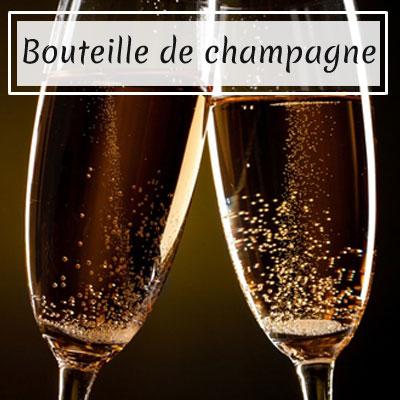 Bouteille de champagne - Week-end en amoureux - Services et Spa