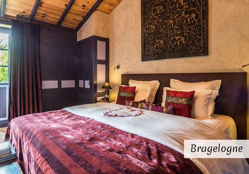 Suite Bragelogne avec jacuzzi - séjour famille en chambres d'hotes