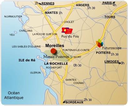 Carte - Moreilles