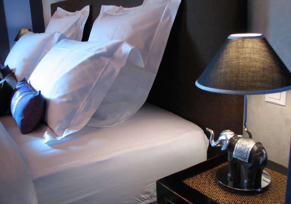 Détails chambre - Hotel Vendée
