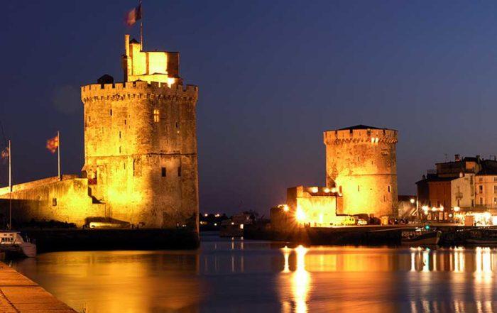 La Rochelle de nuit - Hotel Charme La Rochelle