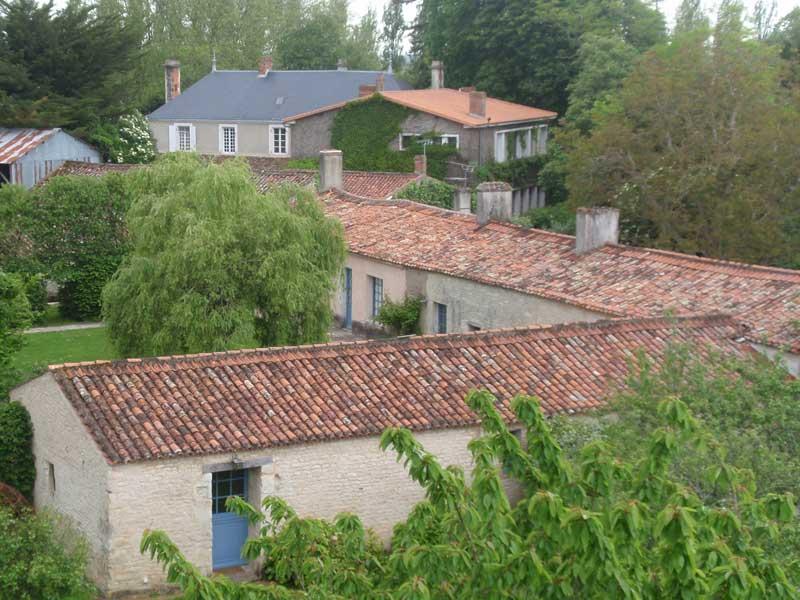 Vue aérienne du Portail en Marais Poitevin - Hotel La Rochelle