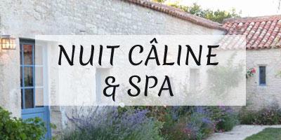 Nuit câline & Spa - idées week-end romantique