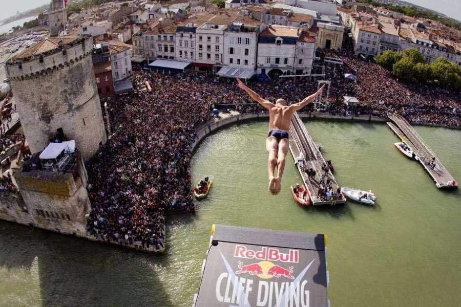 Le Red Bull Cliff Diving - La Rochelle