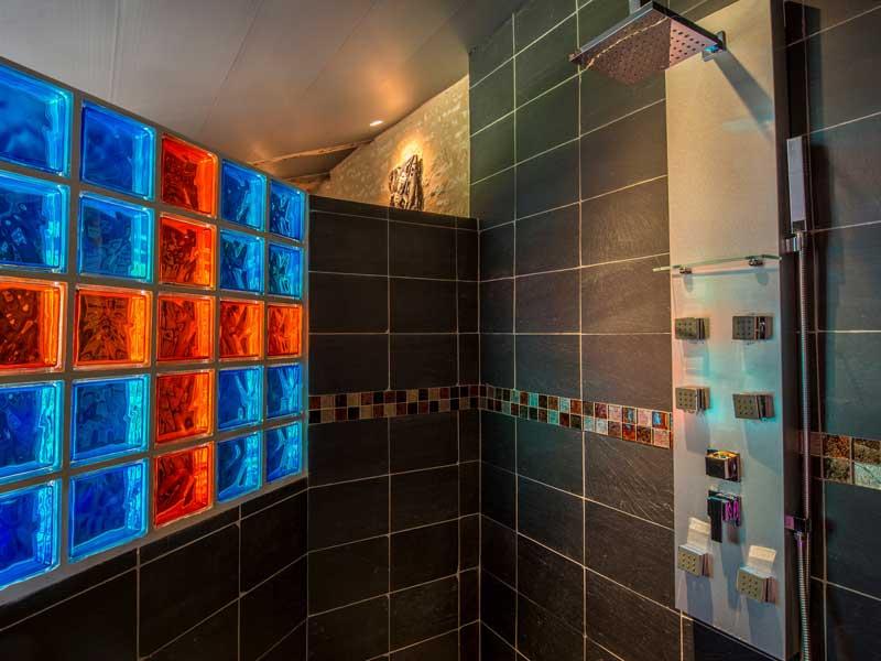 douche à l'italienne spa